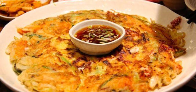 recette pancake coréen pajeon